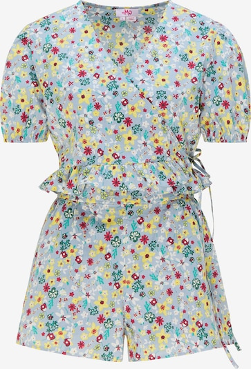 MYMO Pantsuit in Light blue / Yellow / Jade / Raspberry / White, Item view