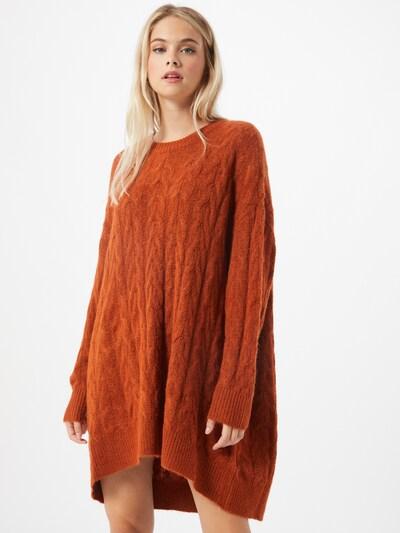ONLY Oversized vest 'Dora' in de kleur Oranjerood, Modelweergave