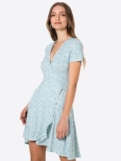 ABOUT YOU Zomerjurk in de kleur Lichtblauw / Wit, Modelweergave