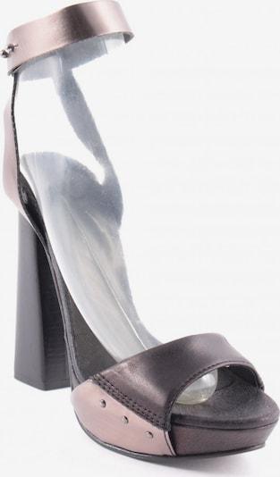DIESEL High Heel Sandaletten in 39 in dunkelbraun / bronze, Produktansicht