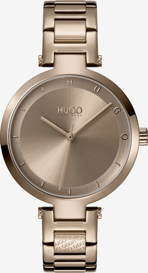 HUGO Uhr in gold, Produktansicht