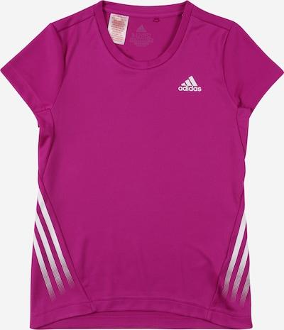 ADIDAS PERFORMANCE T-Shirt fonctionnel en violet / blanc, Vue avec produit