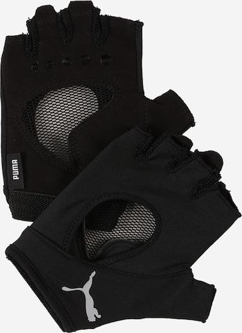 PUMA Sports gloves in Black