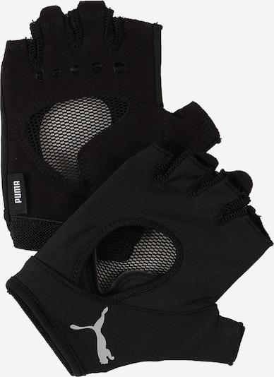 PUMA Gants de sport en gris / noir, Vue avec produit