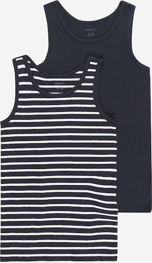 Apatiniai marškinėliai iš NAME IT, spalva – safyro / balta, Prekių apžvalga