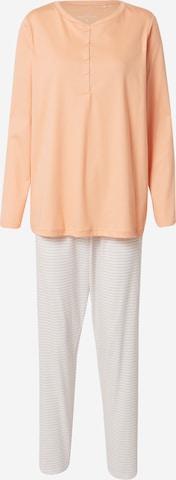 CALIDA Pyjama in Orange