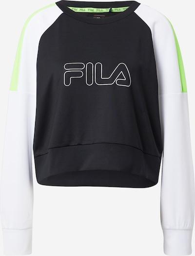 FILA Tehnička sportska majica 'Adriane' u zelena / crna / bijela, Pregled proizvoda