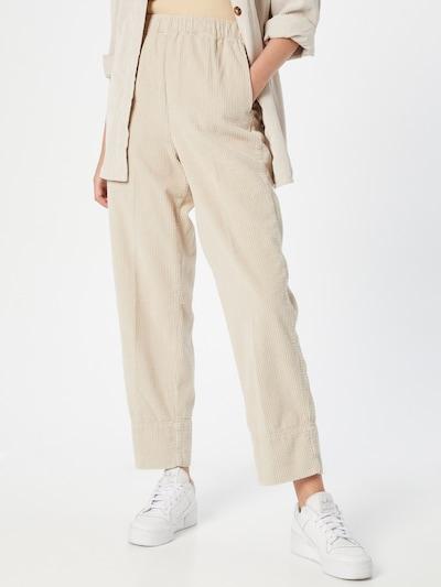 AMERICAN VINTAGE Pantalon 'Padow' en beige, Vue avec modèle