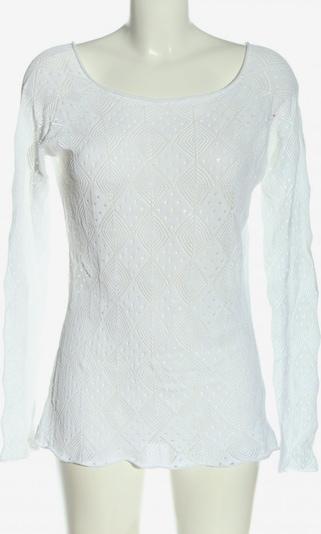 Dolce Vita Häkelpullover in M in weiß, Produktansicht
