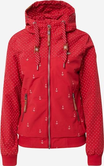 Ragwear Veste fonctionnelle en rouge / blanc, Vue avec produit