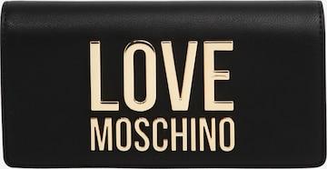 Love Moschino Rahakott, värv must