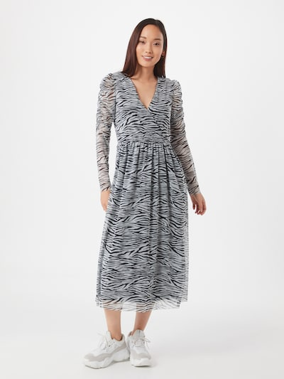 ONLY Kleid 'Sophia' in grau / schwarz, Modelansicht