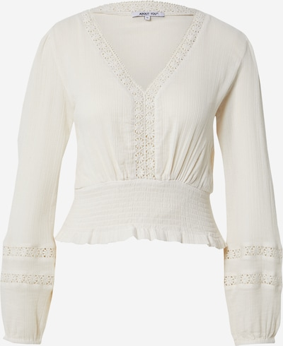 ABOUT YOU Shirt 'Suzi' in weiß, Produktansicht