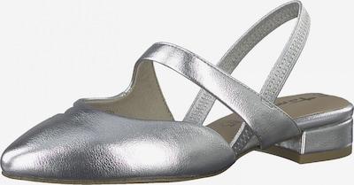 TAMARIS Vaļējas augstpapēžu kurpes Sudrabs, Preces skats