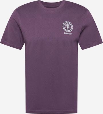 ELEMENT Performance Shirt in Purple