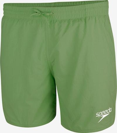 SPEEDO Badeshorts in grasgrün / weiß, Produktansicht