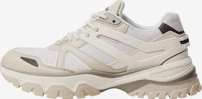 MANGO Sneaker in beige / braun / weiß, Produktansicht