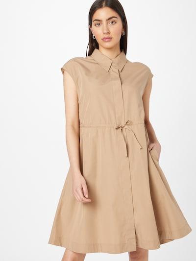 BOSS Casual Kleid 'Dakula' in camel, Modelansicht