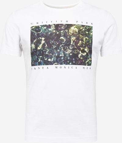 Tricou s.Oliver pe culori mixte / alb: Privire frontală
