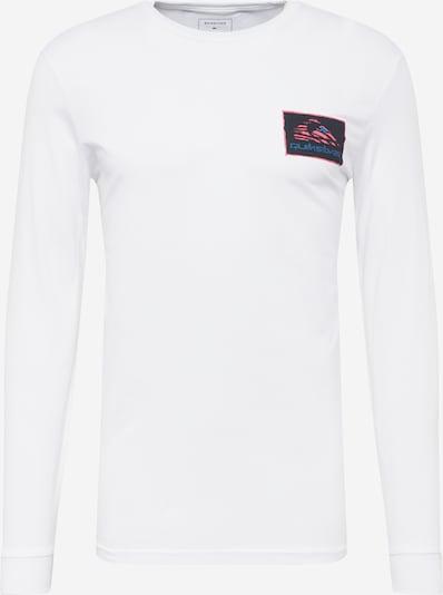 QUIKSILVER Shirt 'RETURN TO THE MOON' in de kleur Turquoise / Lichtroze / Zwart / Wit, Productweergave