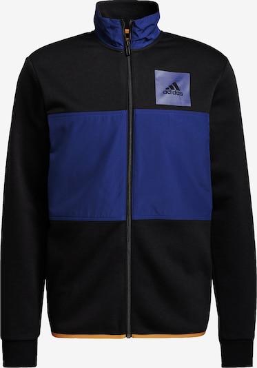 ADIDAS PERFORMANCE Sportjas in de kleur Royal blue/koningsblauw / Goudgeel / Zwart, Productweergave
