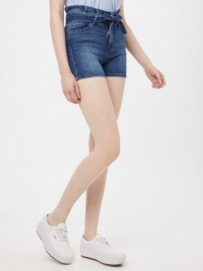 ONLY Shorts 'ONLHUSH LIFE' in blue denim: Frontalansicht