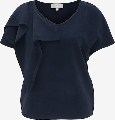 usha WHITE LABEL Bluse in dunkelblau, Produktansicht