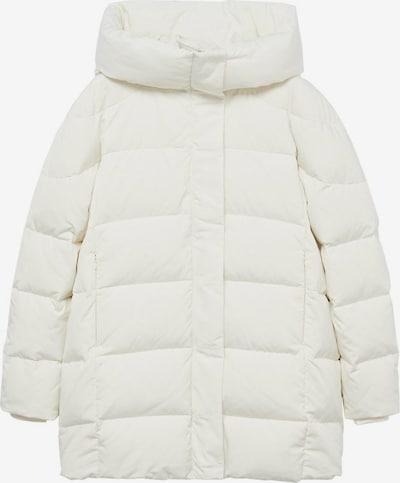 MANGO Płaszcz zimowy w kolorze nakrapiany białym, Podgląd produktu