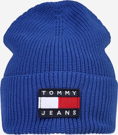 Tommy Jeans Muts 'HERITAGE' in de kleur Blauw / Navy / Rood / Wit, Productweergave
