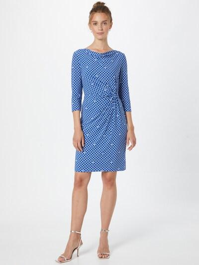 Lauren Ralph Lauren Kleid 'TRAVA' in blau / weiß, Modelansicht