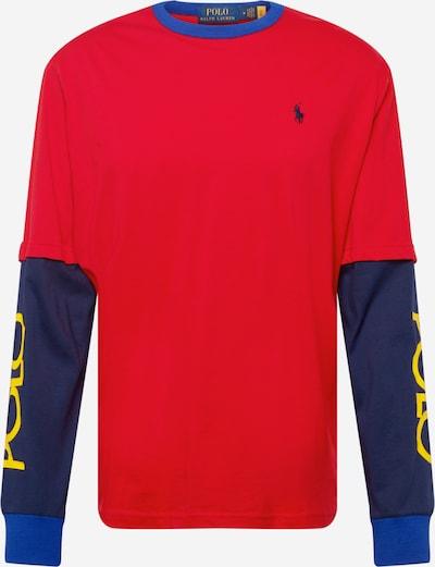 Polo Ralph Lauren Shirt in blau / navy / gelb / rot, Produktansicht