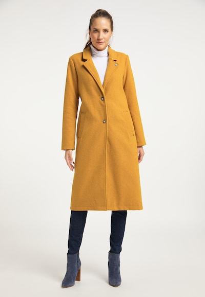 DreiMaster Vintage Mantel in gelb, Modelansicht