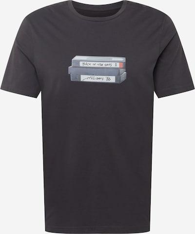 ARMEDANGELS T-Shirt 'JAAMES' in silbergrau / lachs / schwarz / weiß, Produktansicht