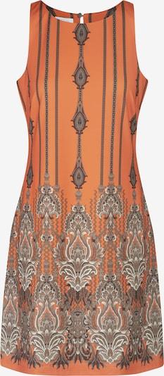 mint & mia Kleid in grau / orange, Produktansicht