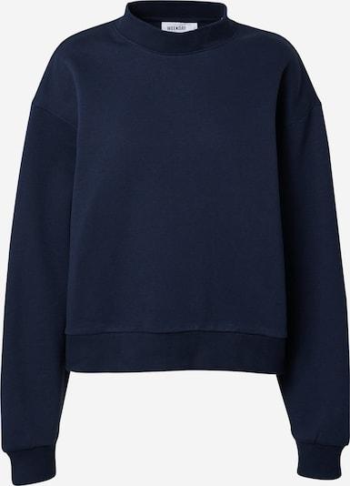 WEEKDAY Sweatshirt 'Amaze' in de kleur Blauw, Productweergave