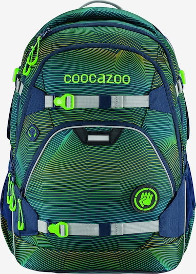 Coocazoo Schulrucksack in grün, Produktansicht