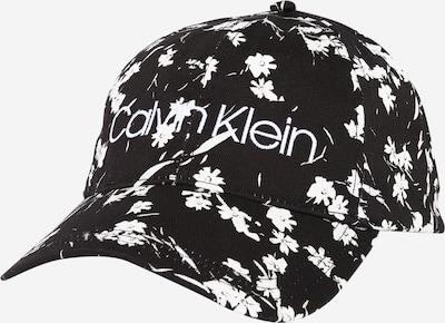 Calvin Klein Casquette en noir / blanc, Vue avec produit