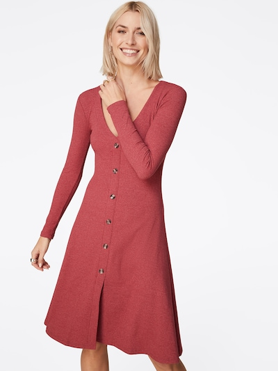 LeGer by Lena Gercke Kleid 'Svenja' in bordeaux: Frontalansicht
