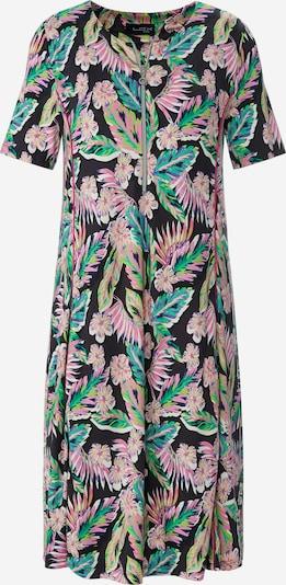 Looxent Jerseykleid in grün / lila / rosa / schwarz / weiß, Produktansicht