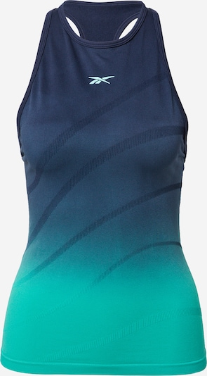 Reebok Sport Sports Top in marine blue / Navy / Turquoise, Item view