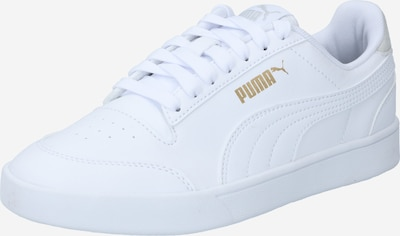 PUMA Trainers 'Shuffle' in Beige / Gold / White, Item view