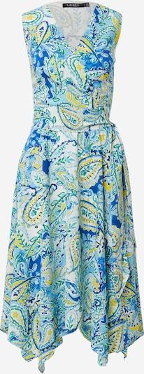 Lauren Ralph Lauren Kleid 'VINZY' in blau / gelb / jade / weiß, Produktansicht