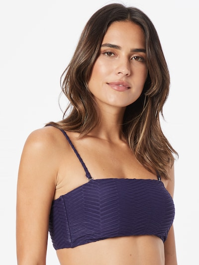 Cotton On Body Bikinitop in navy, Modelansicht