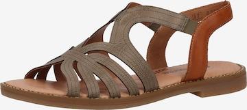 REMONTE Sandale in Grün
