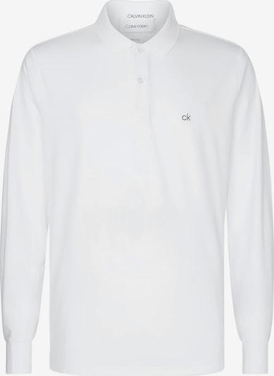 Calvin Klein Poloshirt in weiß, Produktansicht