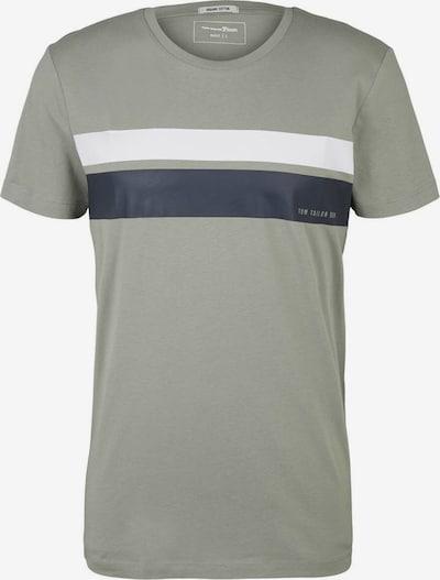 Maglietta TOM TAILOR DENIM di colore navy / oliva / bianco, Visualizzazione prodotti