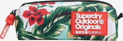 Superdry Box/mand in de kleur Blauw / Groen / Rood / Zwart / Wit, Productweergave