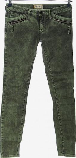 Met Stretch Jeans in 27-28 in hellgrau / grün, Produktansicht