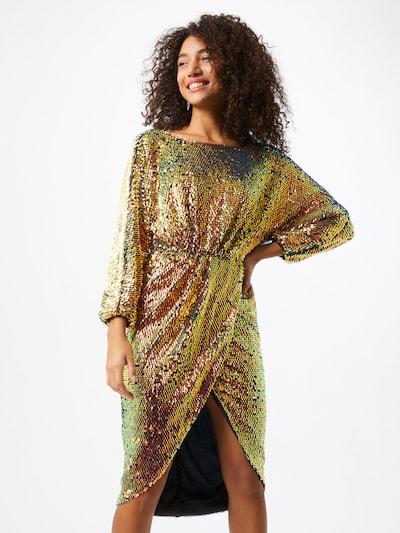 TFNC Kleid in gold / mischfarben, Modelansicht