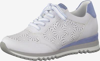 Sneaker low MARCO TOZZI pe alb, Vizualizare produs